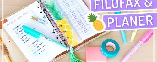 DIY Filofax Hacks und Tipps